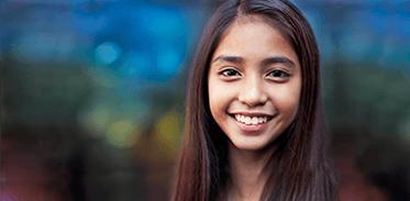 Smiling Teen Image